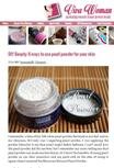 Moroccan Natural Pearl Powder by vivawomen.com. Click on the image for full review.