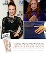 Love the classic look of 'Jenna's Nude Moon' nail wraps? So does Rachel McAdams!