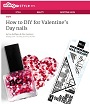 How to DIY for Valentine's Day Nails