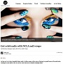 Get celeb nails with NCLA nail wraps